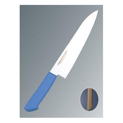 マスターコック 抗菌カラー庖丁(本刃付) 牛刀 MCGK210 ブラウン