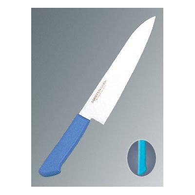 マスターコック 抗菌カラー庖丁(本刃付) 牛刀 MCGK240 グリーン