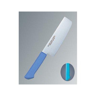 マスターコック 抗菌カラー庖丁(本刃付) 菜切 MCNK180 グリーン