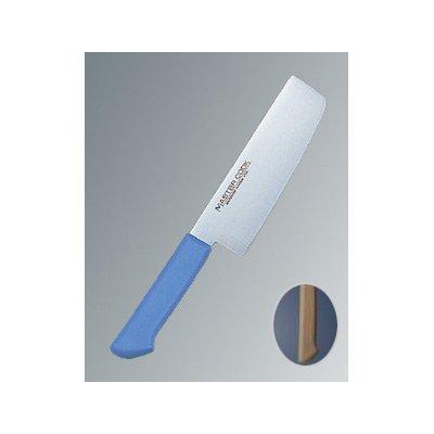 マスターコック 抗菌カラー庖丁(本刃付) 菜切 MCNK180 ブラウン