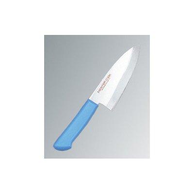 マスターコック 抗菌カラー庖丁(本刃付) 和出刃 MCDK165 ブルー