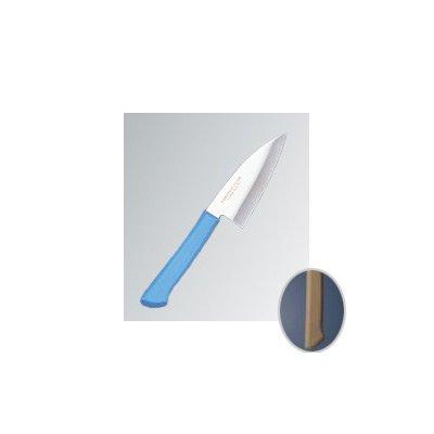 マスターコック 抗菌カラー庖丁(本刃付) 小出刃(両刃) MCKK70 ブラウン