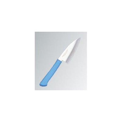マスターコック 抗菌カラー庖丁(本刃付) 小出刃(両刃) MCKK90 ブルー