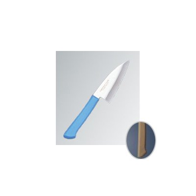 マスターコック 抗菌カラー庖丁(本刃付) 小出刃(両刃) MCKK90 ブラウン