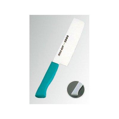 MILD CUT-2000 抗菌カラー庖丁(本刃付) 菜切 MCN ホワイト