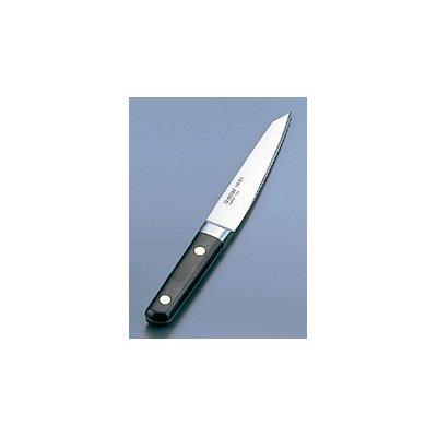 ミソノスウェーデン鋼シリーズ(手研本刃付仕様) 骨スキ丸型 No.142 14.5cm