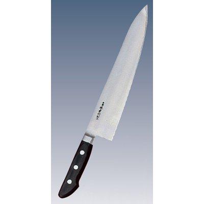 堺孝行作(日本鋼・ツバ付) 牛刀 24cm