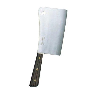 杉本 ツバ付最高品(A)洋庖丁(日本鋼) チョッパーナイフ 18.5cm