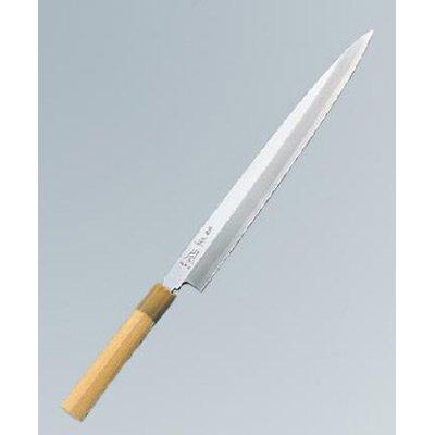 正本 本霞(玉白鋼) 柳刃 21cm