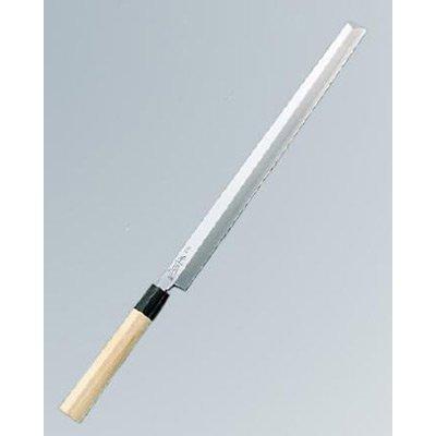 正本 本霞(玉白鋼) タコ引(刺身) 24cm