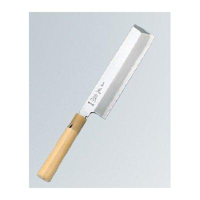 正本 本霞(玉白鋼) 東形薄刃 18cm