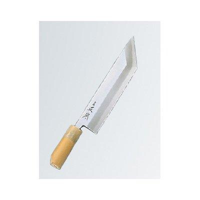 正本 本霞(玉白鋼) 鰻サキ 24cm