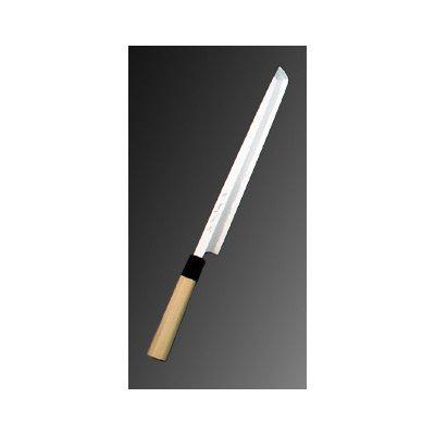 堺實光 上作(白鋼二号) 刺身(柳刃)先丸 21cm