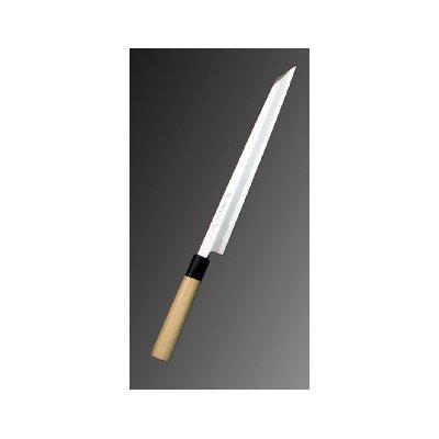 堺實光 上作(白鋼二号) 刺身(柳刃)切付 27cm