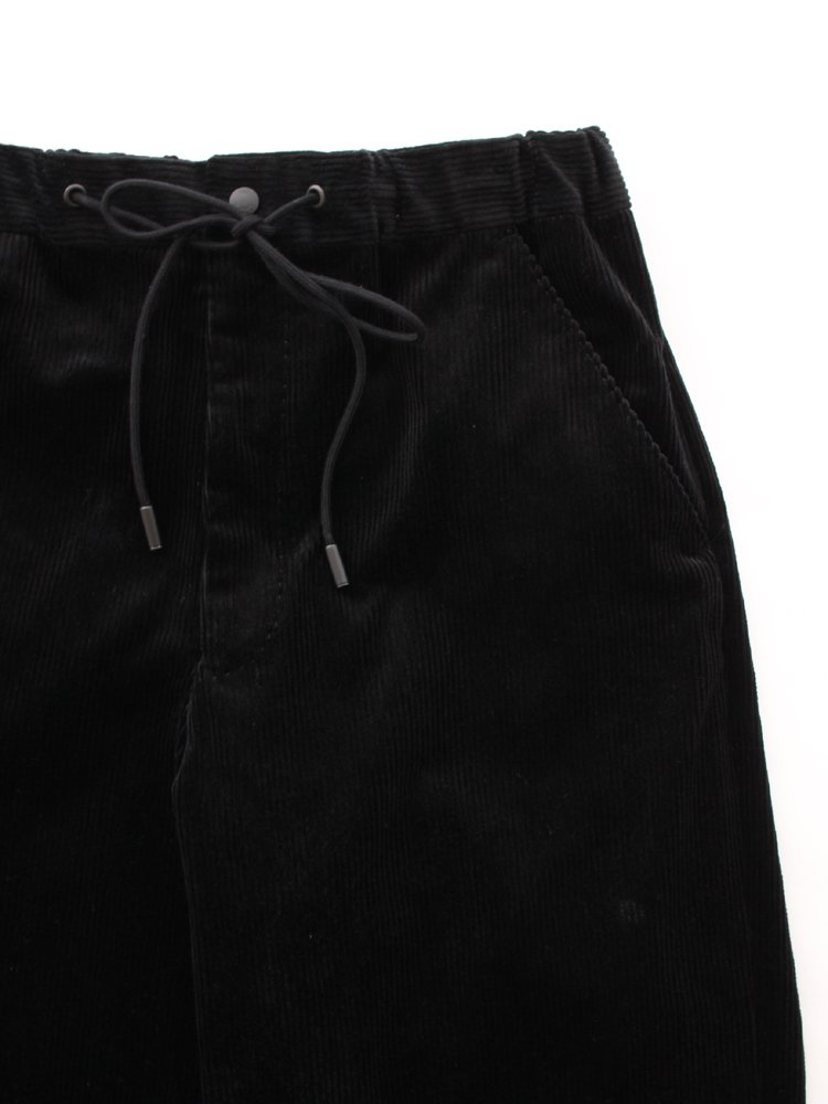 RERACS WIDE EASY SLACKS #BLACK [20FW-REPT-192-2-J]