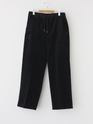 THE RERACS | ザ・リラクス RERACS WIDE EASY SLACKS #BLACK [20FW-REPT-192-2-J]