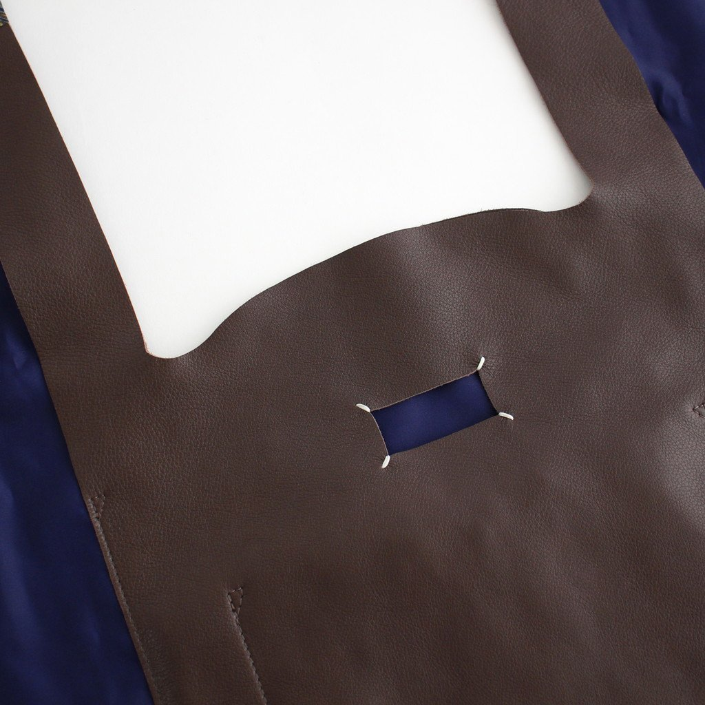 MONOPRIX FOULARD BAG #DARK BROWN [S35WC0132]