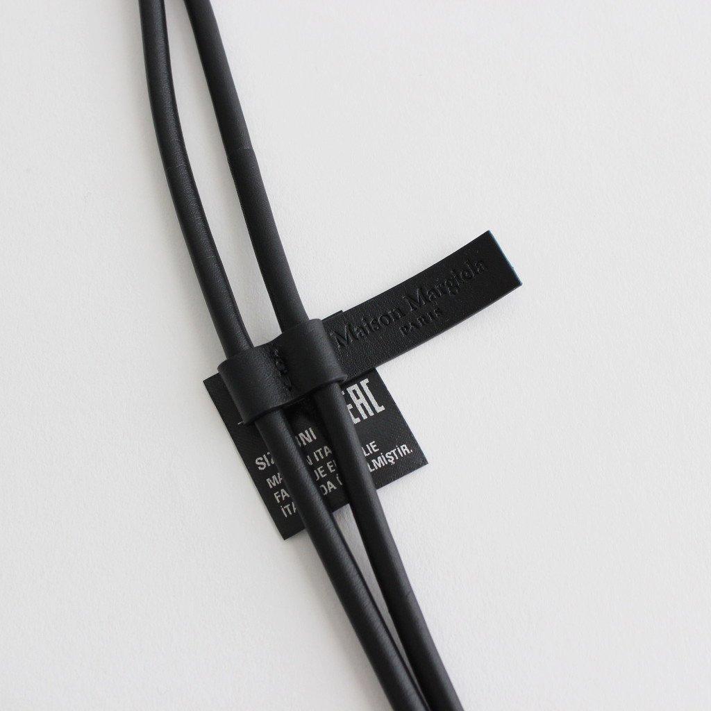 KEYRING NECKLACE #BLACK [S55UA0086]