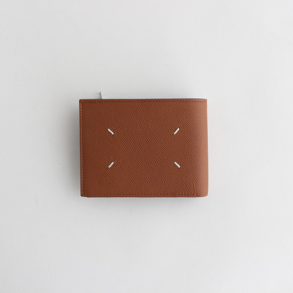 ZIP LEATHER WALLET WIDE #CUOIO [S35UI0436]