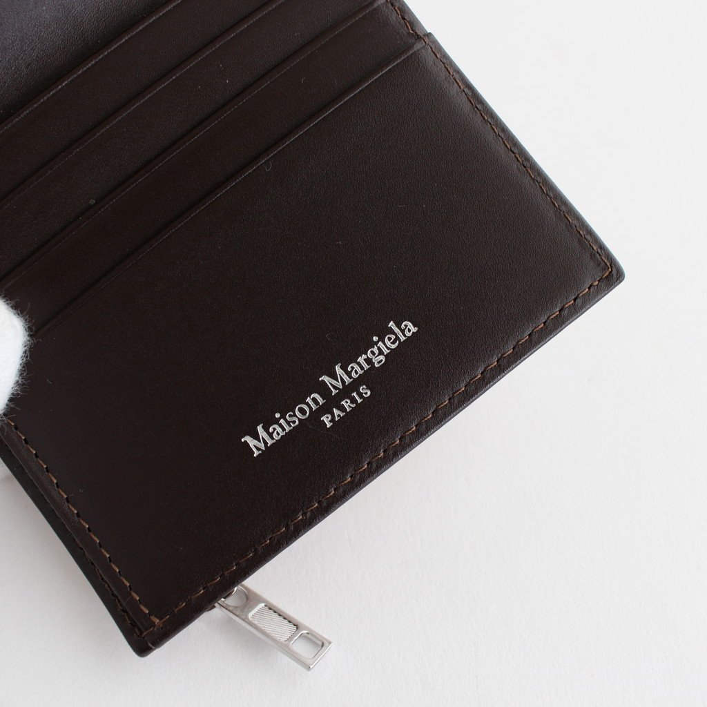 ZIP LEATHER WALLET #CUOIO [S35UI0438]