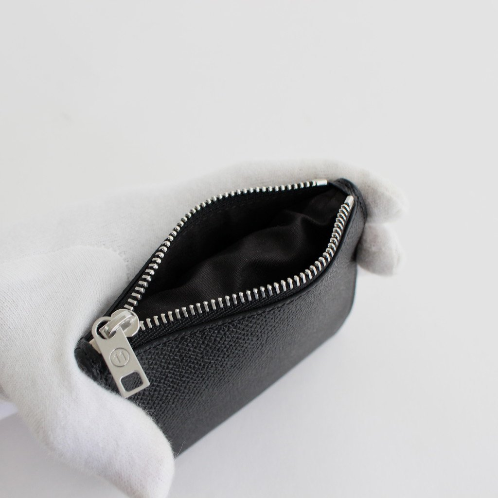 B FOLD ZIP WALLET #BLACK [S35UI0448]