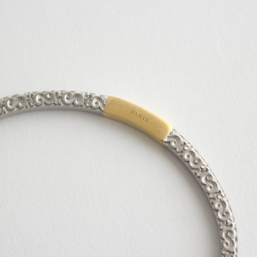 CARVING BANGLE #GOLD [SM1UY0034]