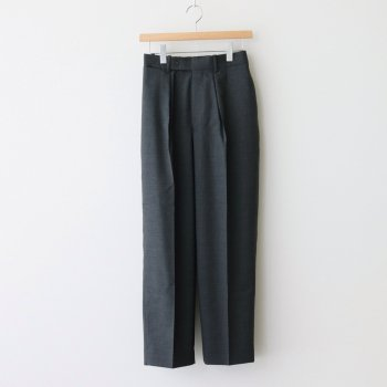 MARKAWARE | マーカウェア CLASSIC FIT TROUSERS #CHARCOAL [A21A-03PT02C]