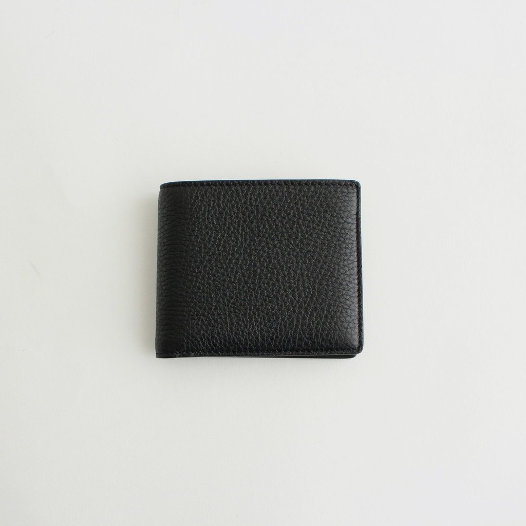 LEATHER BILL FOLDER #BLACK [S35UI0435]