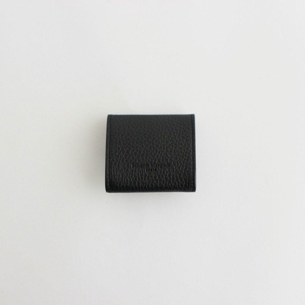FOLDED COINS CASE #BLACK [S55UI0301]
