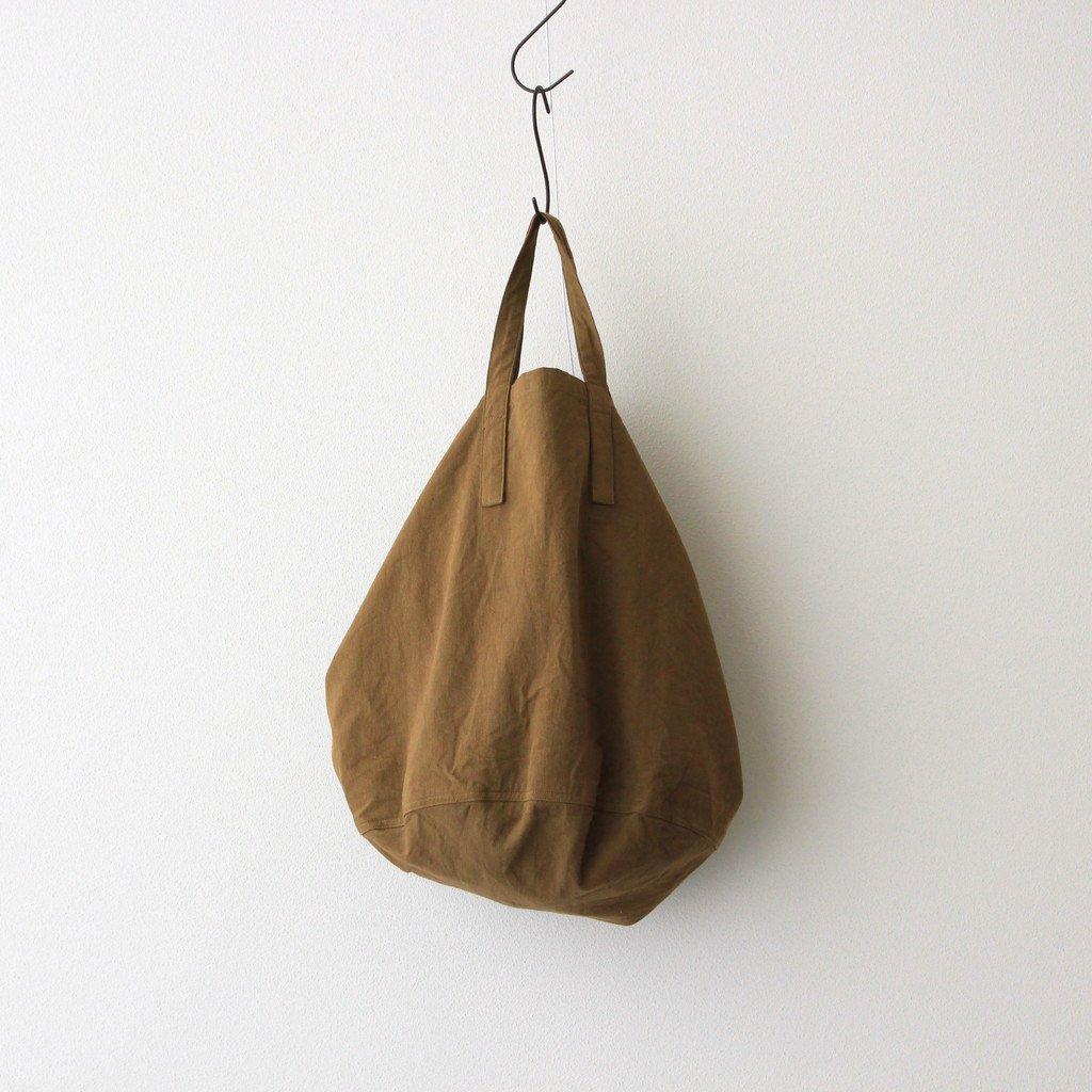 ROUND TOTE BAG #VINTAGE KHAKI [PMAL-AC06]