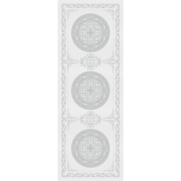 ガルニエティエボー 【撥水GS】テーブルランナー コンテス ブラン ホワイト