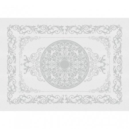 【撥水GS】ランチョンマット コンテス  ブラン ホワイト(4枚セット)