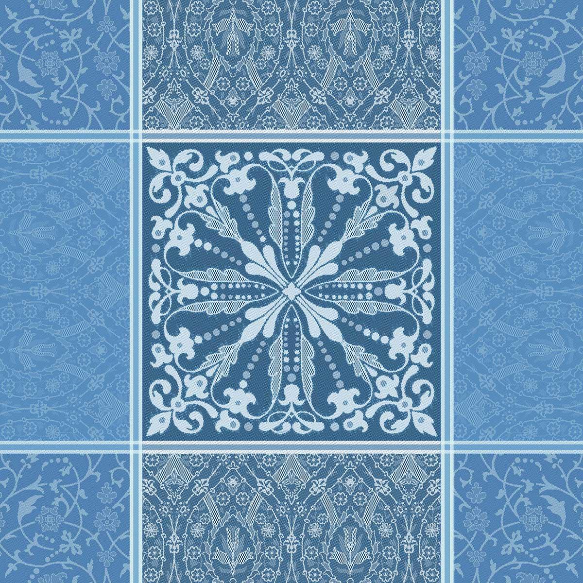ガルニエティエボー ナプキン カッサンドル サファイア(4枚セット)