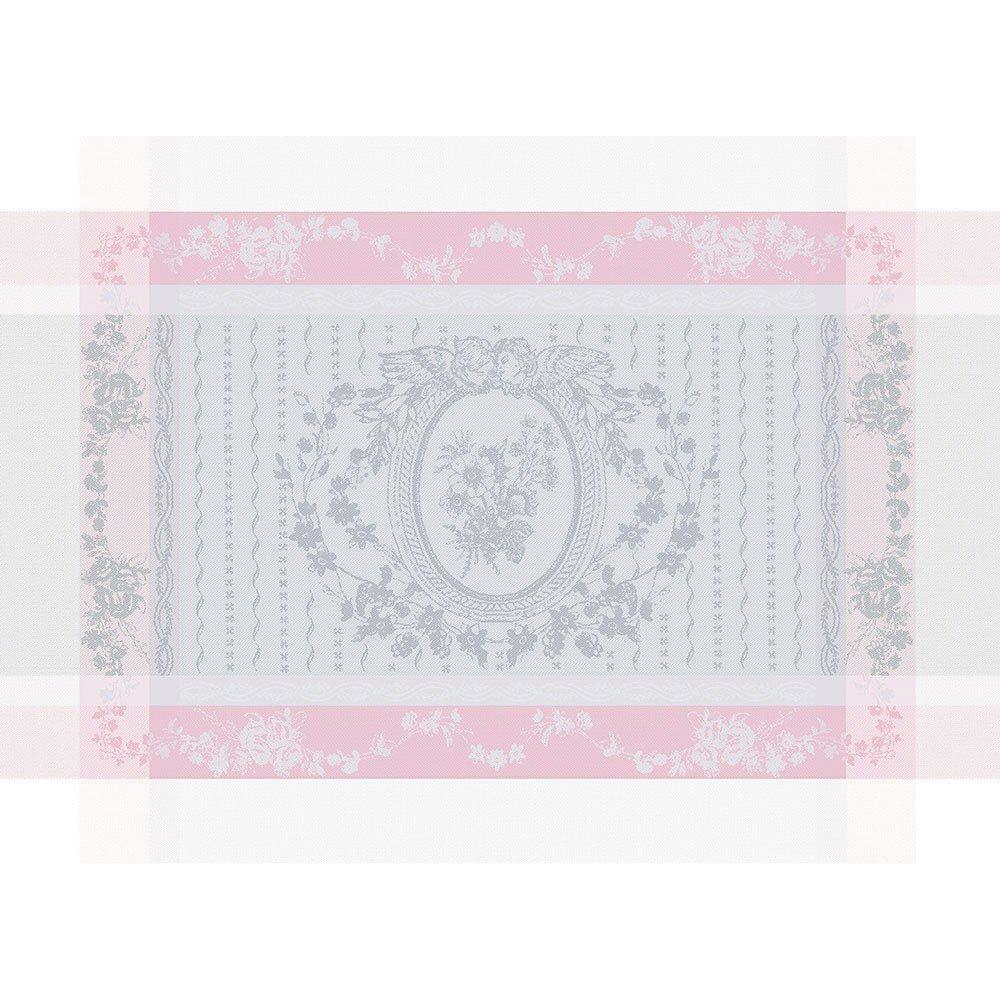 ガルニエティエボー 【撥水GS】ランチョンマット リサンドラ ローズ(4枚セット)