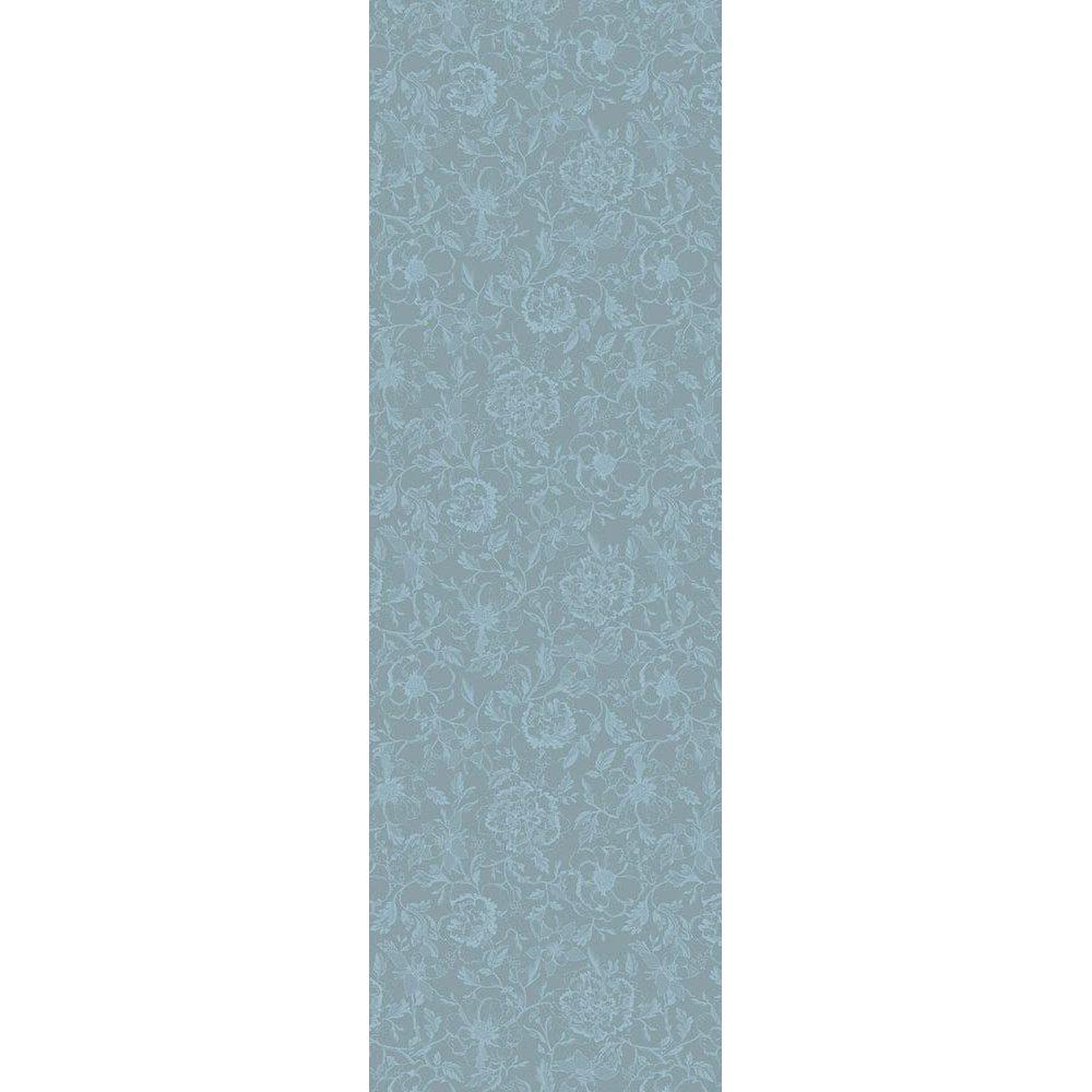 ガルニエティエボー テーブルランナー(撥水なし) ミルシャルム ルイ16世ブルー