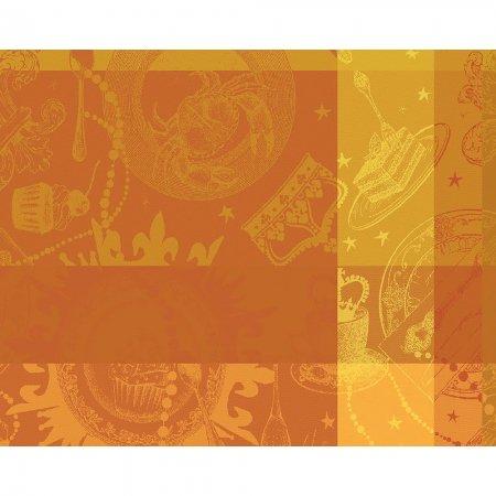 【撥水コート】ランチョンマット ミルバンケット オークル(4枚セット)