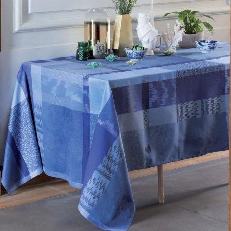 テーブルクロス(撥水なし) ミルマティエール ブルー