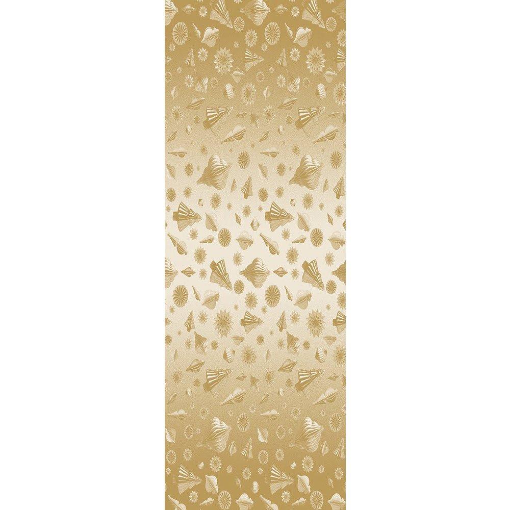 ガルニエティエボー テーブルランナー(撥水なし) ミルメリー ゴールド