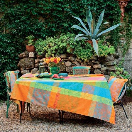テーブルクロス(撥水なし) ミルインディア フェスティバル