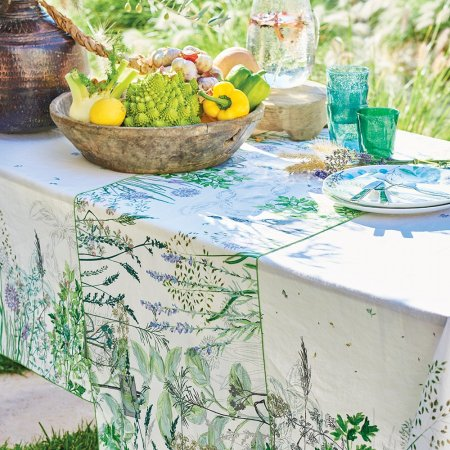 テーブルランナー(撥水なし) ジャルダンアロマティーク フロレゾン