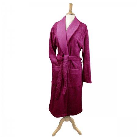 バスローブ エレア フクシア(赤紫)