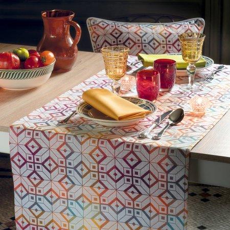 テーブルランナー(撥水なし)ミルパヴェ フランボワイヤン
