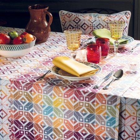 テーブルランナー(撥水なし)ミルパヴェ マルチカラー