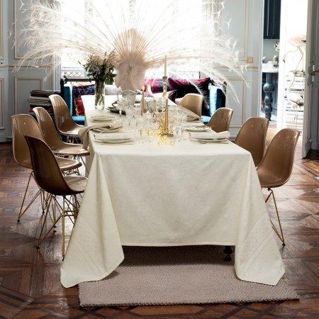 テーブルクロス(撥水なし) イサフィル オフホワイト