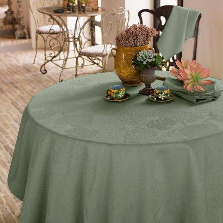 テーブルクロス(撥水なし) ミルエヴァーグリーン スモーキーグリーン