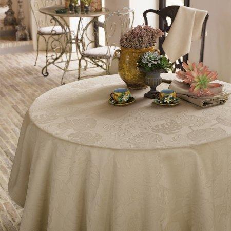 テーブルクロス(撥水なし) ミルエヴァーグリーン フィセル
