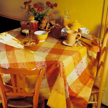 テーブルクロス(撥水なし) ミルカラー ソレイユ