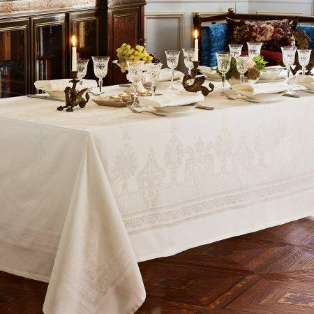 テーブルクロス(撥水なし) ボールガール アイボリー