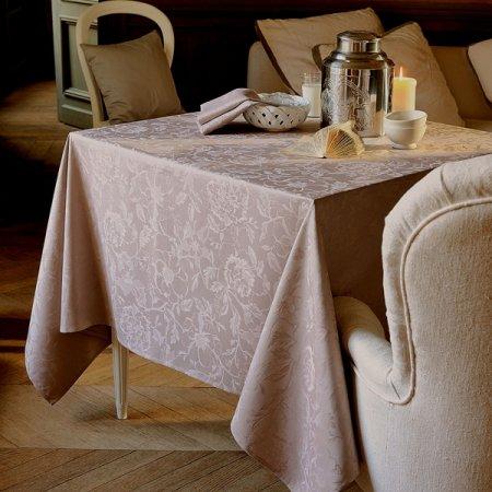 テーブルクロス(撥水なし) ミルシャルム トープ