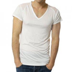 ひだまり涼SUZUMI 紳士Vネックシャツ